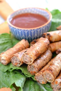 Classic and perfectly crispy Filipino Lumpia recipe!