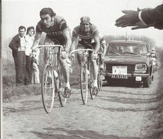 Paris-Roubaix 1972. Merckx y Vlaeminck