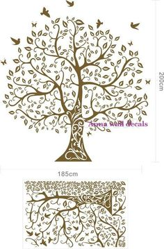 tree wall decal for my room maybe