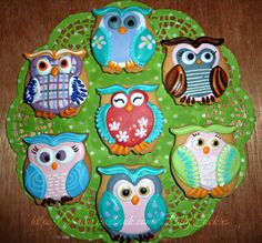 owl   Cookie Connection