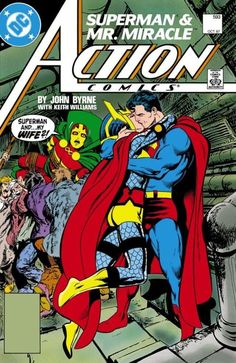 Action Comics #593 (1987) by John Byrne