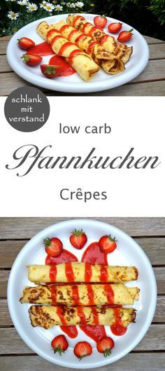 low carb Pfannkuchen Crepes
