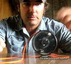 How to set up your fly rod reel with new line.