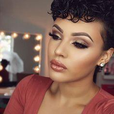 WEBSTA @ makeupaddictioncosmetics - ✨ Simply obsessed with her beauty! @viva_glam_kay is slaying!! ✨#Makeupaddictioncosmetics