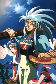 Tenchi Muyo! (1992). Ryoko the tiger.
