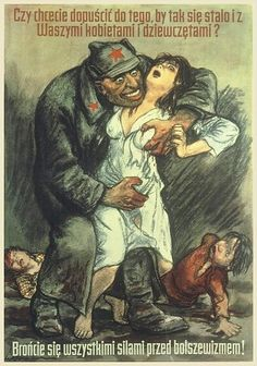 Do you want this to happen to your women and children? by Willibald Krain, 1944 [WWII,Poster]