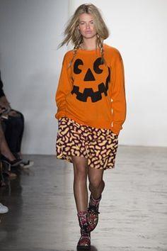 Jeremy Scott womenswear, spring/summer 2015, New York Fashion Week