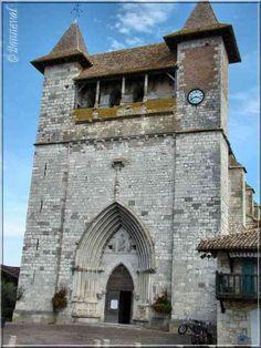 Villeréal Lot-et-Garonne l'Eglise Notre-Dame de style gothique méridional Villeneuve Sur Lot, Poitiers, Chapelle, Romanesque, Road Trip, Italy, French, London, Country