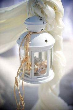 Mini lanterne blanche