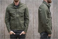 Levi's Commuter Jacket Olive Green