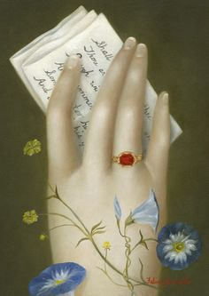 Hand with William Shakespeare, Sonnet 18 by Fatima Ronquillo x oil Meyer Gallery Memento Mori, La Danse Macabre, The Darling Buds, Lovers Eyes, Art Brut, Detail Art, Art Boards, Art Museum, Flower Art