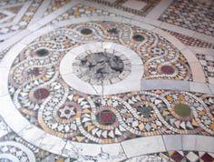 marble floor. Vatican