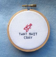 PATTERN: Cray Cray Crayfish Pattern - Funny Cross Stitch Pattern ...
