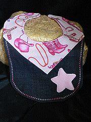 Cowgirl Baby Bib by Western Border www.western-border.com Price $15.00