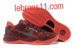 Kobe Bryant 8 Red Grey Shoes Cheap Jordan Shoes, Cheap Jordans, Kobe Bryant 8, Discount Sites, Extreme Sports, Red And Grey, Shoe Sale, Nike
