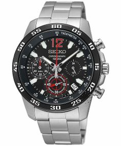SEIKO Chronograph Stainless Steel Bracelet Μοντέλο: SSB129P1 Η τιμή μας: 218€ http://www.oroloi.gr/product_info.php?products_id=39354