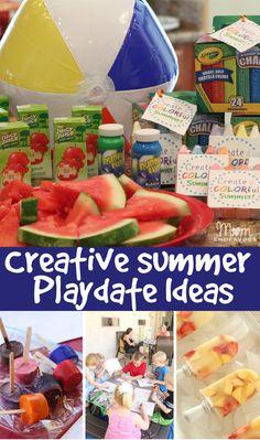 Creative Summer Playdate Ideas via momendeavors.com #UltimatePlaydate #shop