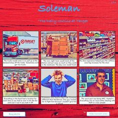 The daily routine at Target #173 SOLEMAN STUDIOS Target Clearance, Managing People, The End Game, Challenge Me, Routine, Studios, Blog, Blogging