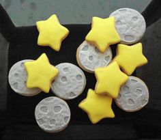 Star & Moon Cookies by CookieDoodler on Etsy, $13.00