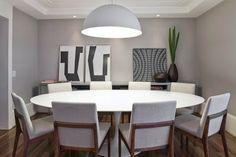 Sandrin Londrina - Ambientes Planejados: DESEJO DESIGN - Seleção de móveis e luminárias para renovar sua sala de jantar.