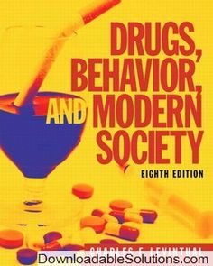 Instant download and all chapters solutions manual college physics provides students with a deeper understanding of what impacts drug use the eighth edition of drugs behavior and modern society examines the impact of fandeluxe Gallery