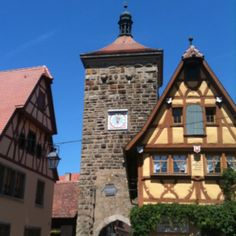 Rothenburg, Germany. A charming town in perhaps the cleanest country in the world. We were pleasantly surprised to run into a family who live near us back home while we were there.