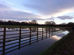 January 10th.  Flooded footpath/cycle path by the Stover Canal