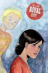 Tommy Can You Hear Me?  Taking on a tale as complex as the new Royal City could spell disaster. But Jeff Lemire makes it look easy in Royal City #1. He has a practiced hand telling such complicated stories as Sweet Tooth Essex County and Moon Knight. And he makes this new undertaking seem effortless.  Royal City #1 (Variant Cover) Taking on double duty in writing and illustrating Lemire methodically introduces us to the Pike family. Theres the elderly Peter and Patti who are having marital…