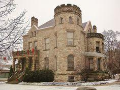 Grand Rapids, Mi. The Fox House circa 1880, photo taken by Doug Copeland
