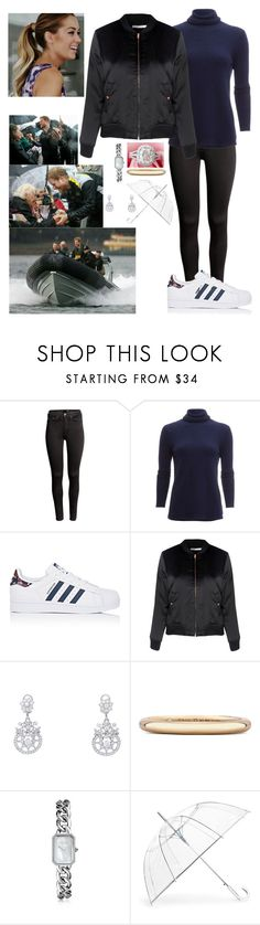 """Royal tour day 4: Sailing in the Harbour"" by royal-431 ❤ liked on Polyvore featuring H&M, White + Warren, adidas, Glamorous, Fred Leighton, De Beers, Chanel and ShedRain"