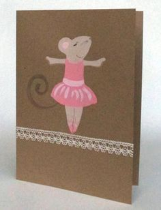 Miss Mouse by fmhandpaintedcards on Etsy Paint Cards, Hand Painted, Unique Jewelry, Frame, Handmade Gifts, Prints, Etsy, Vintage, Picture Frame