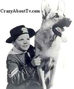 "Rin Tin Tin was ""the other dog show on TV"".  It ran from 1954 - 1959 and Rinty was a real life war hero in real life."