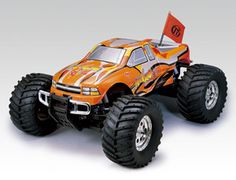 The Thunder Tiger MTA4 S28 in 1/8 scale really is an rc monster truck worth shouting about!    The MTA4 Super 28 gives you maximum fun and performance without the expensive price tag.    This radio control model is ready built and ready to run. The MTA-4 includes a 2.4GHZ Radio System.