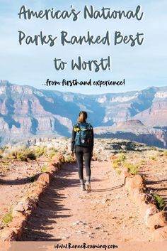 US National Parks Ranked Best To Worst - First-Hand Experience! In 2017 I traveled to every single US National Park in one epic 7 month long road trip. Find out my ranking of the national parks from best to worst, from actual firsthand experience! American National Parks, National Parks Usa, Road Trip National Parks, Olympia National Park, California National Parks, New Orleans, New York, Over The Rainbow, Solo Travel
