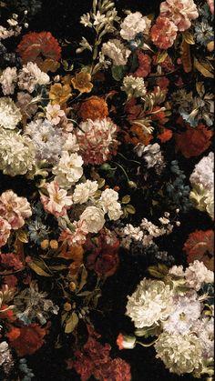Flowery Wallpaper, Flower Phone Wallpaper, Iphone Background Wallpaper, Aesthetic Pastel Wallpaper, Aesthetic Wallpapers, Galaxy Wallpaper, Flower Aesthetic, Aesthetic Art, Art Bizarre