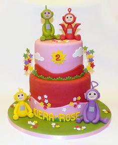 Teletubbies birthday cake by EvaRose Cakes