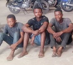 6 cultists arrested for gang-raping and initiating teenage students in Lagos State{photos}