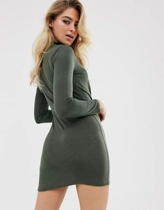Browse online for the newest In The Style tie front mini dress styles. Shop easier with ASOS' multiple payments and return options (Ts&Cs apply). Teen Winter Outfits, Asos, Fashion Dresses, Turtle Neck, Tie, Sweaters, Shopping, Fashion Show Dresses, Pullover