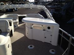 Plenty of space in one of our pontoons!