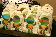 swanky::chic::fete: a girly ninja turtle party