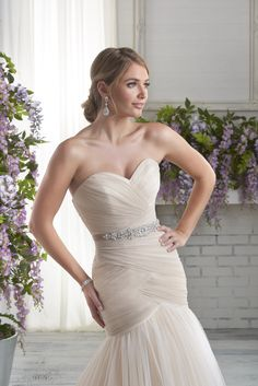 606 from our Bonny Bridal Collection Bonny Bridal Wedding Dresses 5cf54ab50e0b