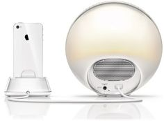 Amazon.com: Philips HF3550/60 Iphone Controlled Wake-Up Light with Colored Sunrise Simulation, White: Health & Personal Care