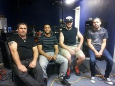 Rustic Circle at the Band Room on 04/27/13 Rick, Auston, Jason and Dominick - photo by Emerald Torres.