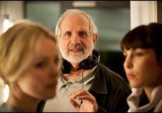Rachel McAdams, Brian De Palma, Noomi Rapace - Passion set