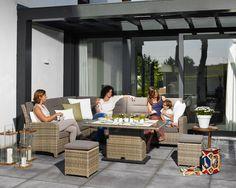 Fiji loungeset naturel wicker ! | Buitenhof