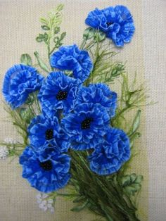 An Encyclopedia of Ribbon Embroidery Flowers: 121 Designs (American School of Needlework, No.