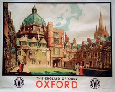 GWR : This England of Ours - Oxford : GWR.
