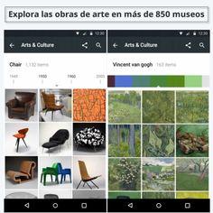 Explora con tu móvil las obras de arte en más de 850 museos #apps