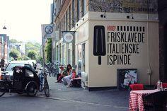 Frk. Kræsen: På solskinsbesøg ved Hviids Is på Østerbro, Olufsgade 6