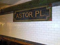 I Haz a Choo Choo Train Problem: Astor Place - A Little Tour